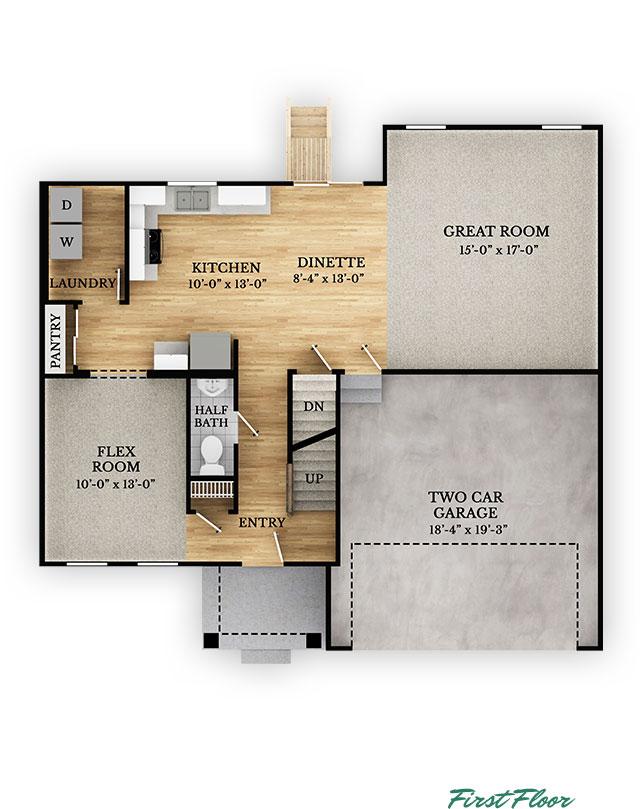 Baldwin - First Floor