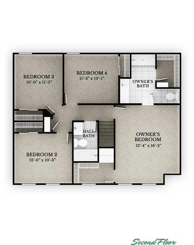 Baldwin - Second Floor