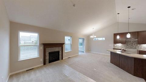 Edmonton - Great Room / Kitchen