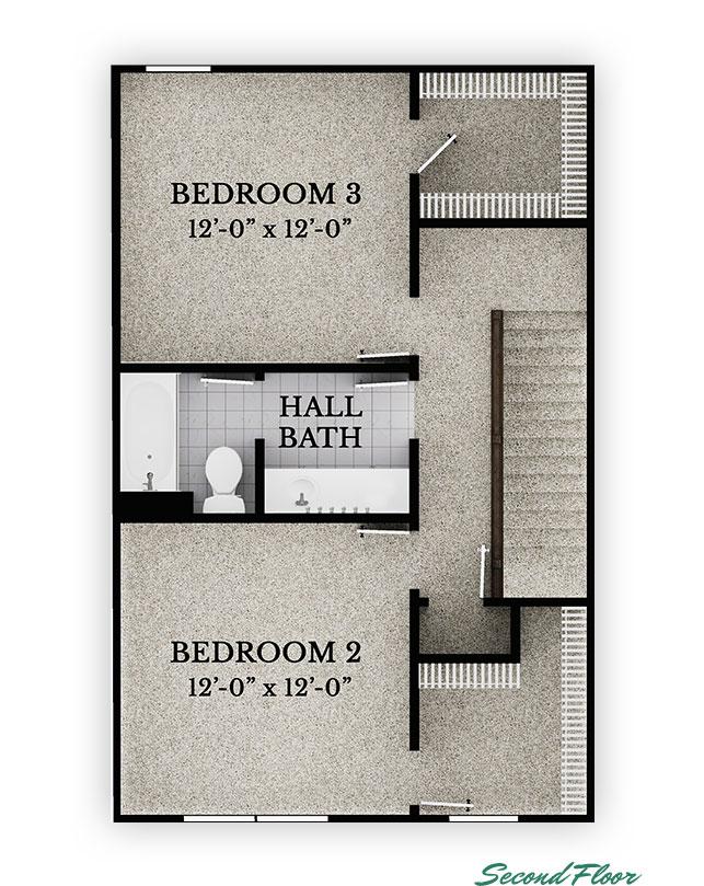 Kenton - Second Floor