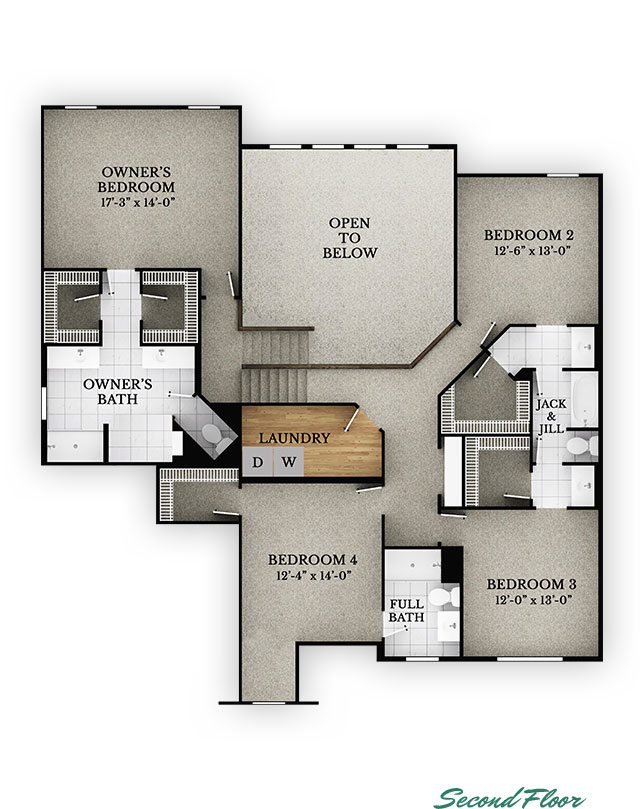 Rockingham - Second Floor