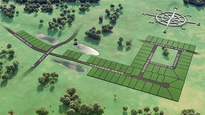 Glenmead Plat Map