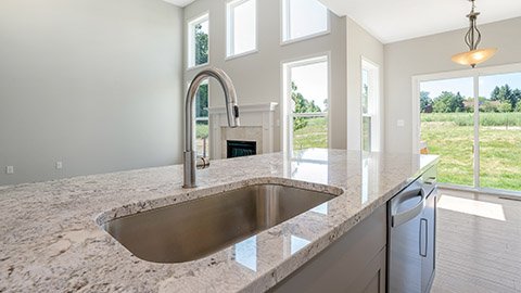 Charleston - Kitchen and Great Room