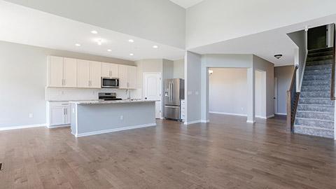 Charleston - Kitchen and Living Room