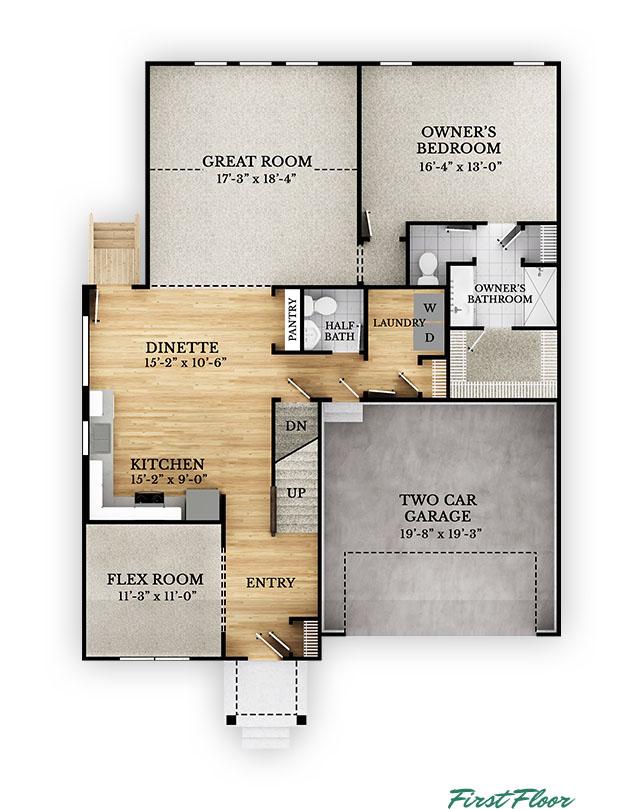Kenton - First Floor
