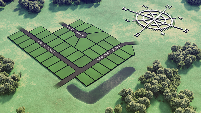 Butler Farms Plat Map