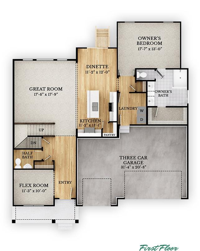 Ashland - First Floor
