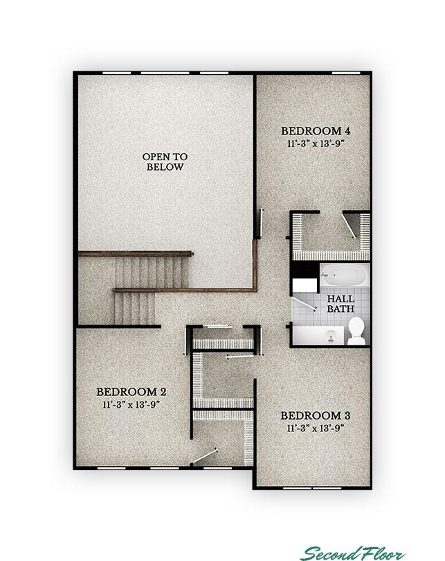 Ashland - Second Floor