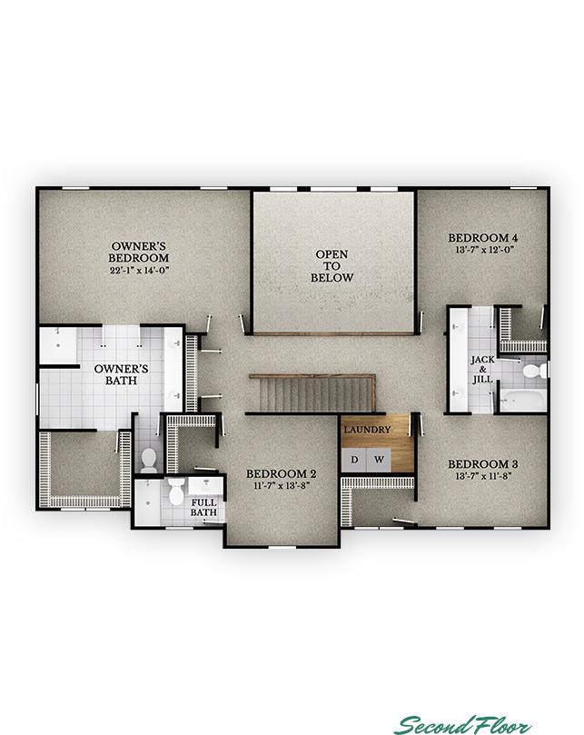 Cedar - Second Floor