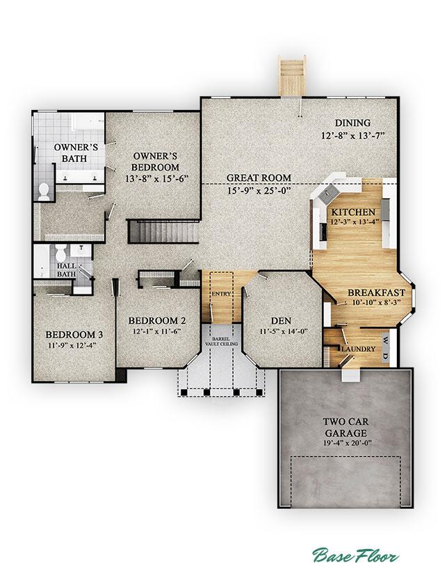 Cypress - Base Floor