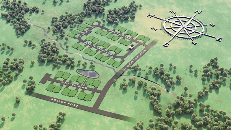 Meadow Grove Reserve Plat Map