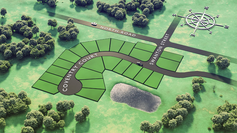 North Farms Plat Map