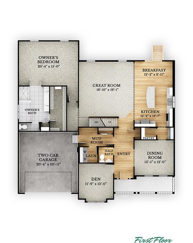 Redwood - First Floor