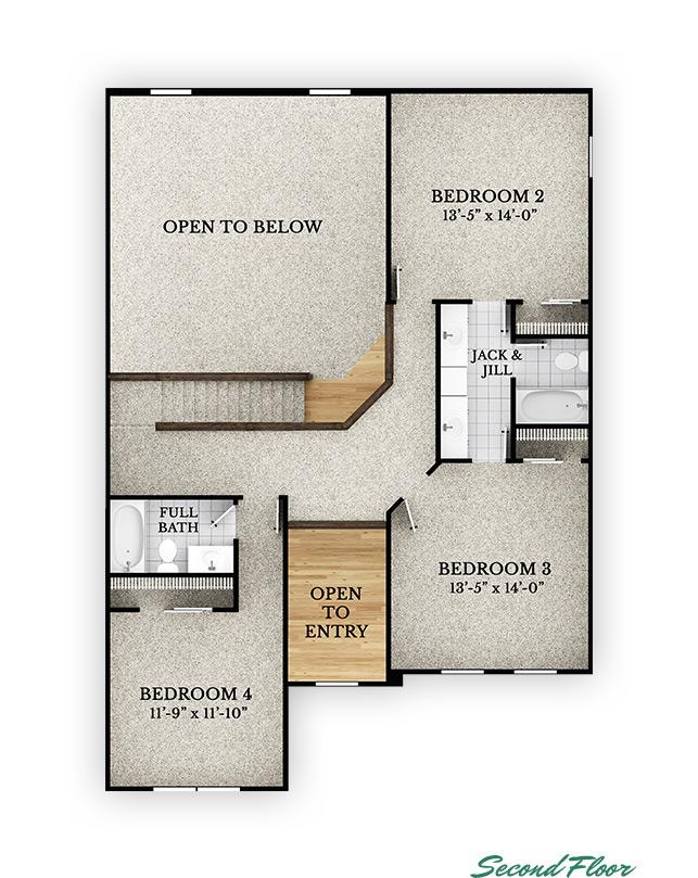 Redwood - Second Floor