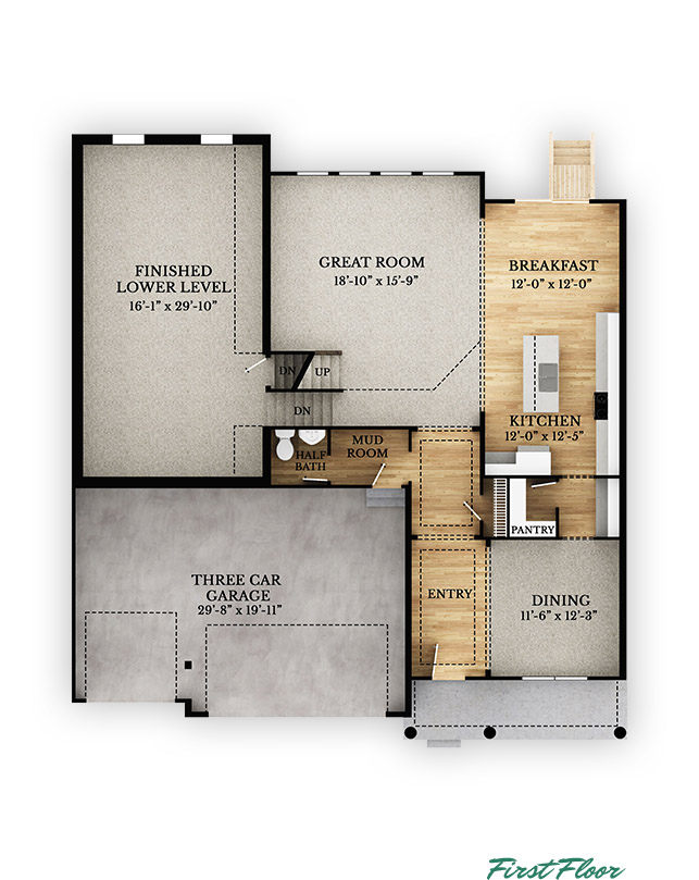 Rockingham - First Floor