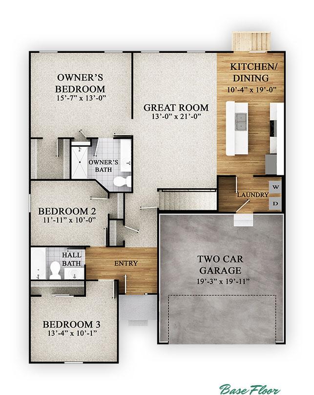 Stockton - Base Floor