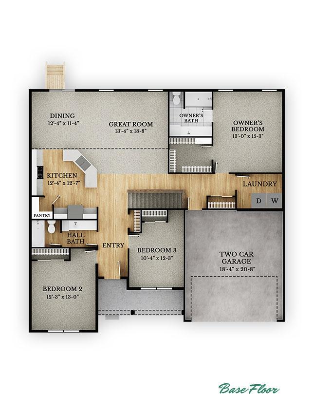 Edmonton Base Floor